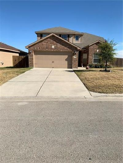 Jarrell Single Family Home For Sale: 221 Sapphire Ln