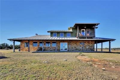 Johnson City Single Family Home For Sale: 1743 Althaus Ranch Rd.