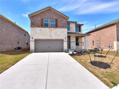 Round Rock Single Family Home For Sale: 2128 Hat Bender Loop