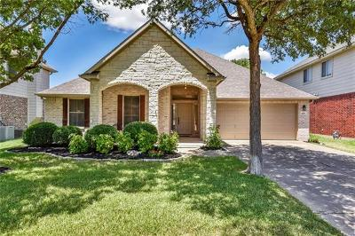 Round Rock Single Family Home For Sale: 4202 N Summercrest Loop