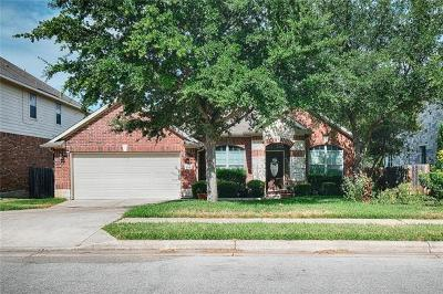 Round Rock Single Family Home For Sale: 4321 Angelico Ln