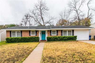 Austin Single Family Home For Sale: 1421 Larkwood Dr