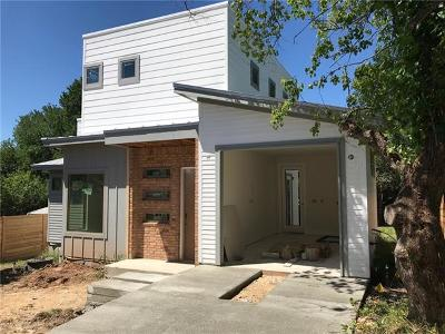 Austin Single Family Home For Sale: 1604 Greenwood Ave #B