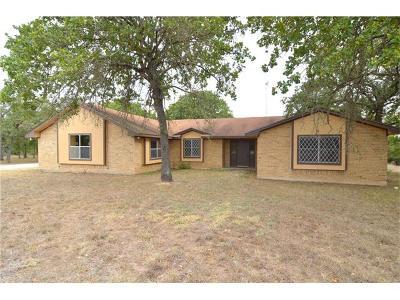 Cedar Creek Single Family Home For Sale: 454 Thousand Oaks Dr