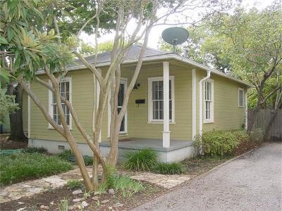 Austin Single Family Home Pending - Taking Backups: 2109 Prather Ln