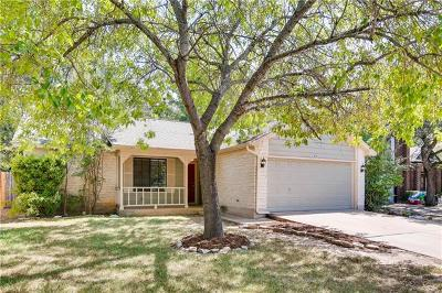 Cedar Park Single Family Home For Sale: 1303 Elm Forest Dr