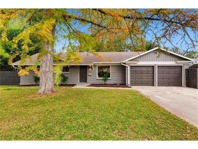 Austin Single Family Home For Sale: 6302 Brookside Dr