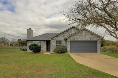 Liberty Hill Single Family Home Pending - Taking Backups: 207 Panther Path