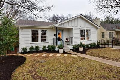 Austin Single Family Home For Sale: 4517 Rosedale Ave