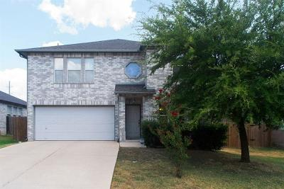Round Rock Single Family Home For Sale: 1302 Deerhound Pl