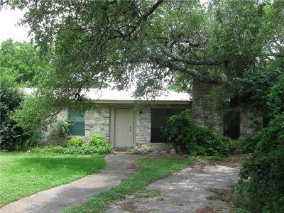 Single Family Home For Sale: 8202 Williamson Creek Dr