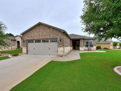 Georgetown TX Single Family Home Active Contingent: $319,000