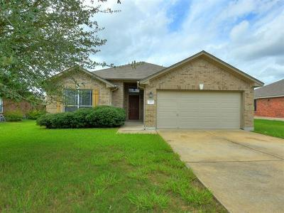 Hutto Single Family Home Pending - Taking Backups: 201 Lone Star Blvd
