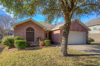 Pflugerville Single Family Home For Sale: 706 Geyser Ave