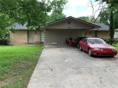 Round Rock Multi Family Home Pending - Taking Backups: 1813 Magnolia Dr