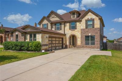 Pflugerville Single Family Home For Sale: 18724 Star Gazer Way