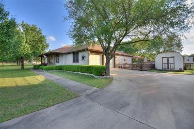 Round Rock Single Family Home For Sale: 2004 Walsh Dr