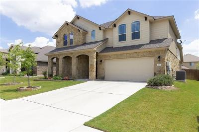 Leander Single Family Home Active Contingent: 700 Sawyer Trl