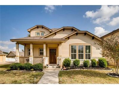 Round Rock Single Family Home For Sale: 932 Heritage Springs Trl