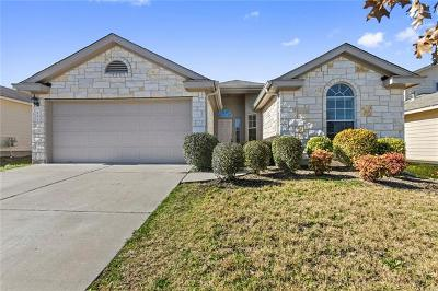 Hutto Single Family Home Pending - Taking Backups: 233 Tolcarne Dr