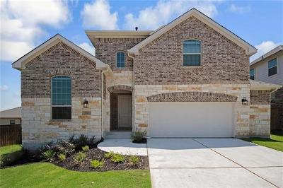 Round Rock Single Family Home For Sale: 3112 Diego Cv