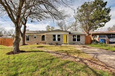 Austin Single Family Home For Sale: 4800 Blueberry Trl