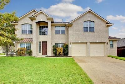 Pflugerville Single Family Home Active Contingent: 19800 Cajuiles Ct