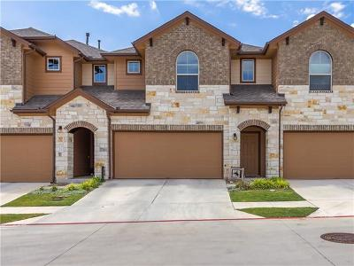 Round Rock Condo/Townhouse For Sale: 1001 Zodiac Ln #33