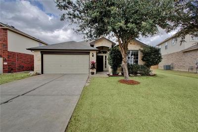 Pflugerville Single Family Home Pending - Taking Backups: 4016 Veiled Falls Dr