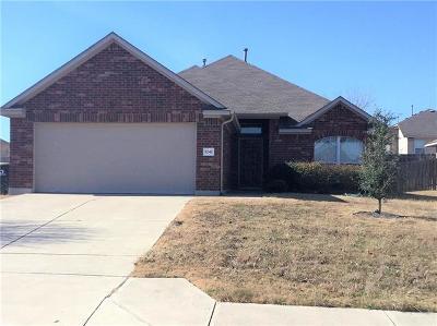 Kyle Single Family Home Pending - Taking Backups: 1242 Cherrywood