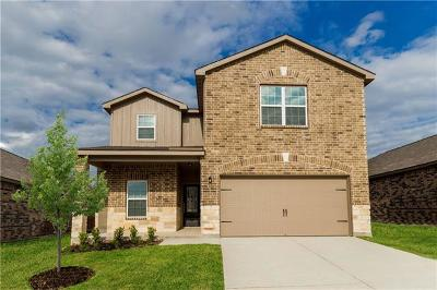 Manor Single Family Home For Sale: 13721 Charles W. Fairbanks Cv