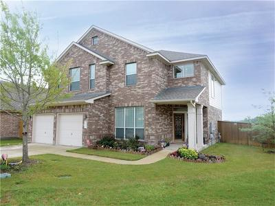 Round Rock Single Family Home For Sale: 3624 Rosalina Loop