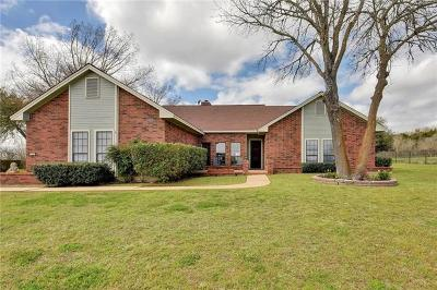 Buda Single Family Home For Sale: 603 Canyon Wren Dr