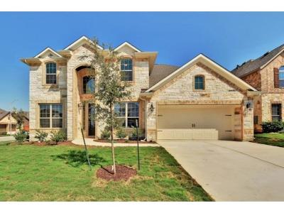 Leander Single Family Home For Sale: 3105 Catalina Ranch Rd
