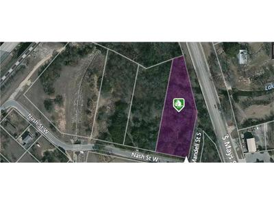 Round Rock Residential Lots & Land For Sale: 610 Nash St
