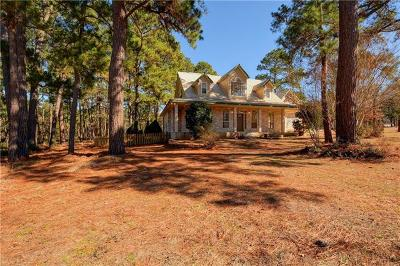 Bastrop Single Family Home For Sale: 100 Pine Path