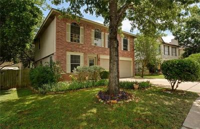 Austin Single Family Home For Sale: 12713 Modena Trl