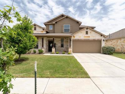 Round Rock Single Family Home For Sale: 731 Palo Duro Loop
