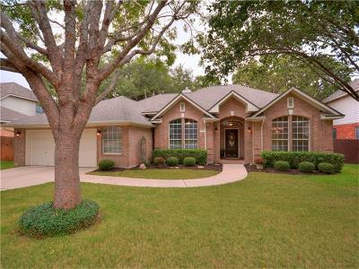 Round Rock Single Family Home For Sale: 6011 Spindletop Ter