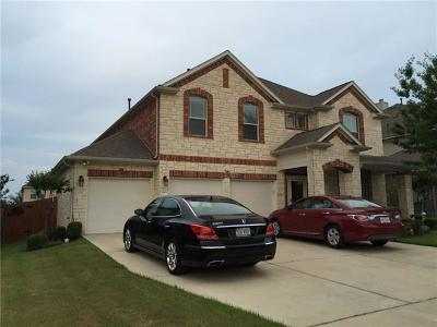 Pflugerville Single Family Home For Sale: 2805 Summit Heights Ct