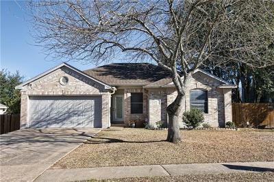 Cedar Park Single Family Home For Sale: 2002 Barnett Dr