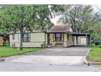 Lockhart Single Family Home Pending - Taking Backups: 910 Plum St