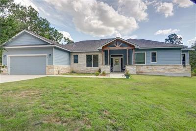 Bastrop Single Family Home Active Contingent: 117 W Kamoi Ct