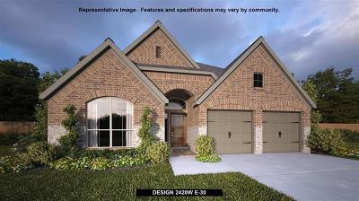 Georgetown Single Family Home For Sale: 2105 Limestone Lake Dr