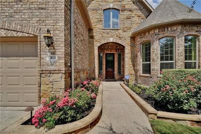 Leander Single Family Home For Sale: 3113 Rabbits Tail Dr