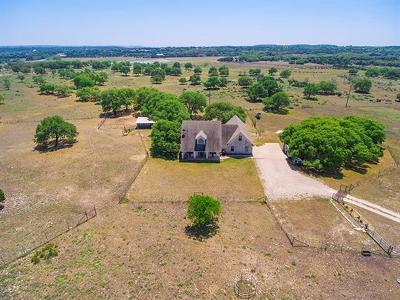 Burnet Single Family Home For Sale: 4121 E State Highway 29