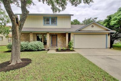 Round Rock Single Family Home For Sale: 300 Whetstone St