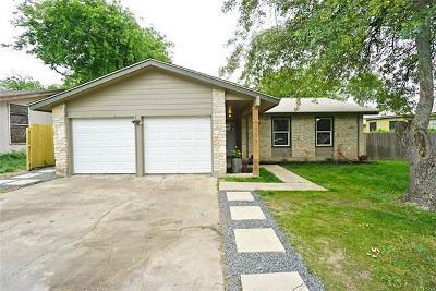 Travis County Single Family Home Pending - Taking Backups: 10601 Turner Dr