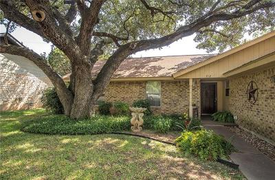 Georgetown Single Family Home For Sale: 212 Burning Tree Drive