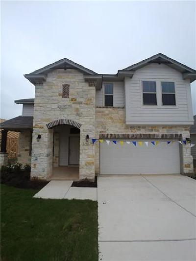Leander Single Family Home For Sale: 412 Red Matador Ln